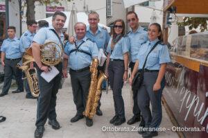 Componenti del corpo Bandistico città di Zafferana Etnea